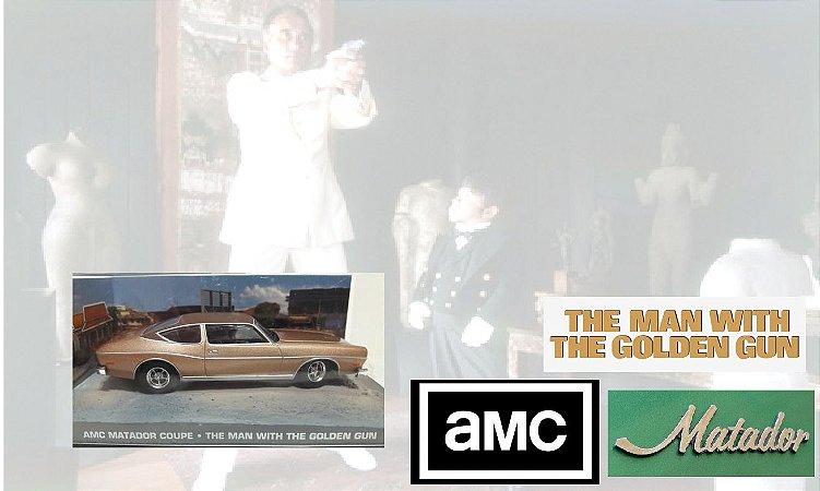 Coleção James Bond 007 Eaglemoss - AMC Matador Coupe - 007 contra o Homem Com a Pistola de Ouro - 1/43