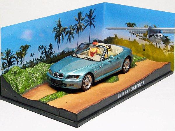 Coleção James Bond 007 Eaglemoss - BMW Z3 - 007 Contra GoldenEye - 1/43
