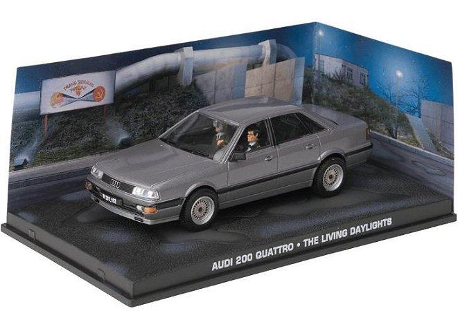 Coleção James Bond 007 Eaglemoss - Audi 200 Quattro - 007 Marcado Para A Morte - 1/43