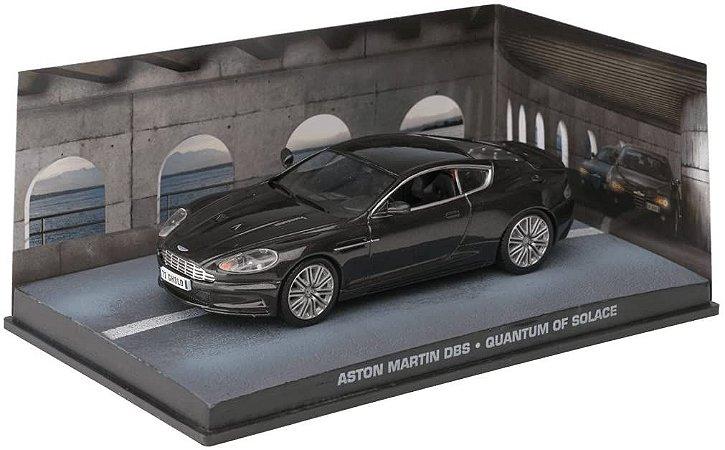 Coleção James Bond 007 Eaglemoss - Aston Martin DBS - 007: Quantum of Solace - 1/43