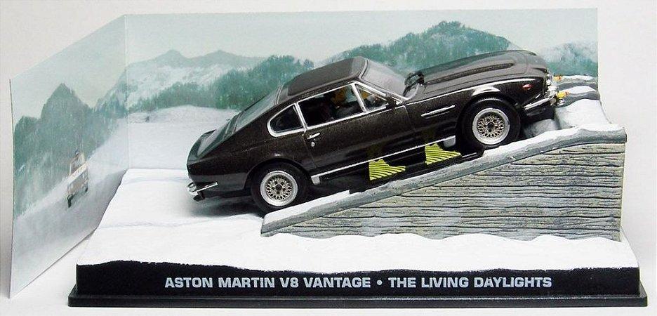 Coleção James Bond 007 Eaglemoss - Aston Martin V8 Vantage - 007 Marcado Para A Morte - 1/43