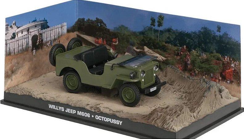 Coleção James Bond 007 Eaglemoss - Willys Jeep M606 - 007 contra Octopussy - 1/43