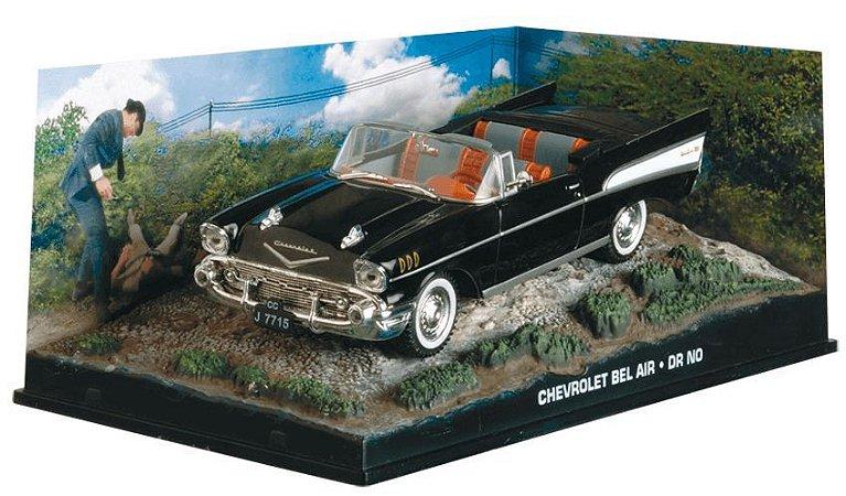 Coleção James Bond 007 Eaglemoss - Chevrolet Bel-Air - 007 Contra o Satânico Dr. No - 1/43