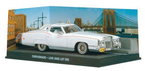 Coleção James Bond 007 Eaglemoss - Cadillac Corvorado - 007: Viva e Deixe Morrer - 1/43