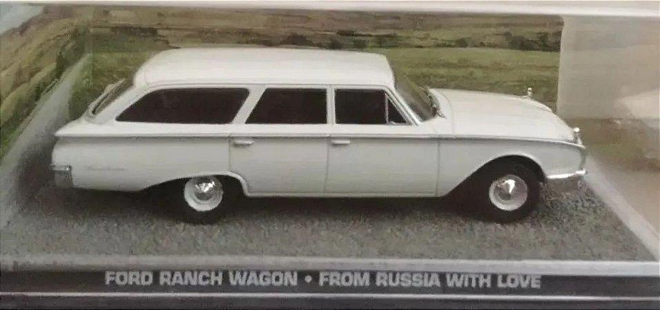 Coleção James Bond 007 Eaglemoss - Ford Ranch Wagon - Moscou Contra 007 - 1/43
