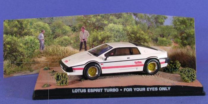 Coleção James Bond 007 Eaglemoss - Lotus Espirit Turbo  - 007: Somente Para Seus Olhos - 1/43