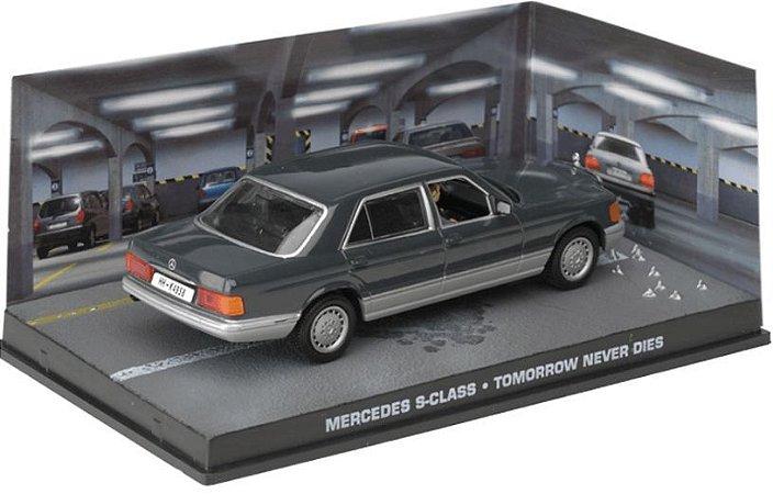 Coleção James Bond 007 Eaglemoss - Mercedes-Benz S-Class - 007: O Amanhã Nunca Morre - 1/43