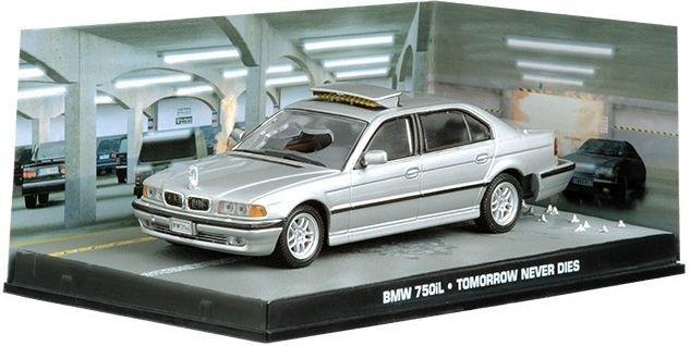 Coleção James Bond 007 Eaglemoss - BMW 750iL - 007: O Amanhã Nunca Morre - 1/43