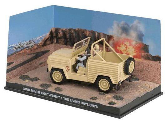 Coleção James Bond 007 Eaglemoss - Land Rover Leightweight - 007 Marcado Para A Morte - 1/43