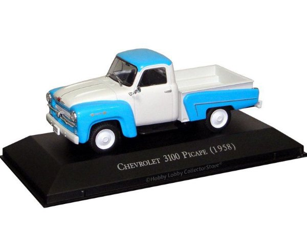 Ixo - Chevrolet 3100 Picape 1958 - 1/43