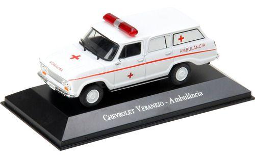 Ixo - Chevrolet Veraneio Ambulância - 1/43