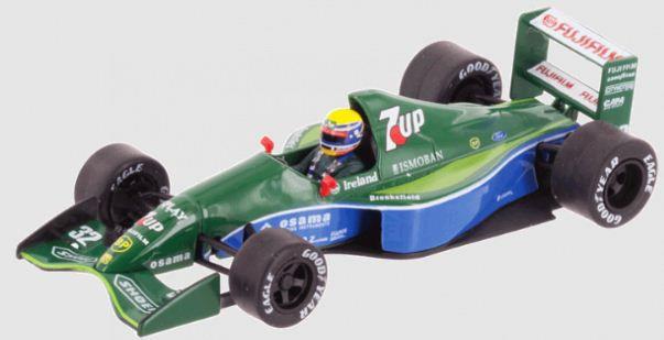 Coleção Lendas Brasileiras do Automobilismo Eaglemoss - Jordan 191 Ford 1991 - 1/43