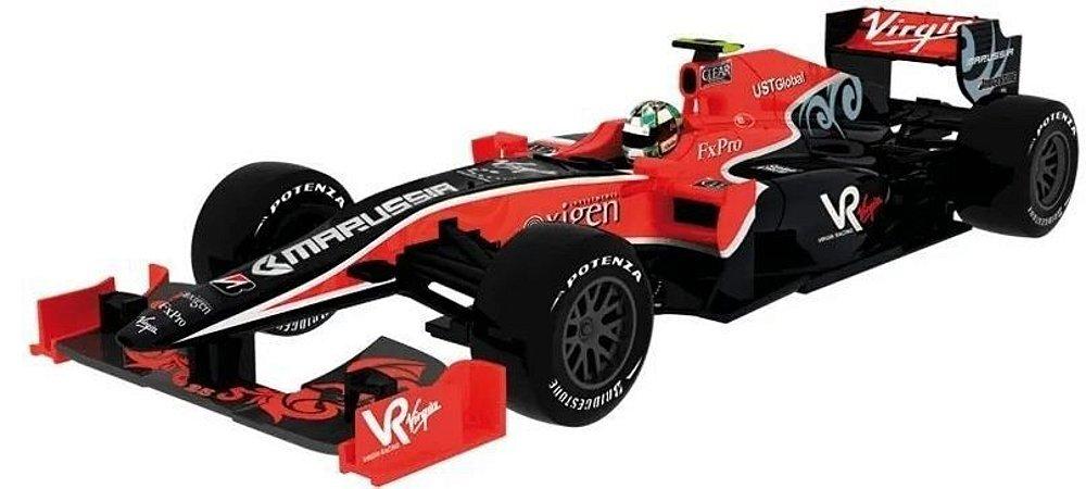 Coleção Lendas Brasileiras do Automobilismo Eaglemoss - Virgin VR-01 Cosworth - 1/43