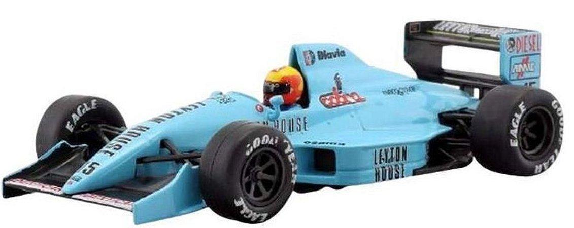 Coleção Lendas Brasileiras do Automobilismo Eaglemoss - March 881 Judd - 1/43