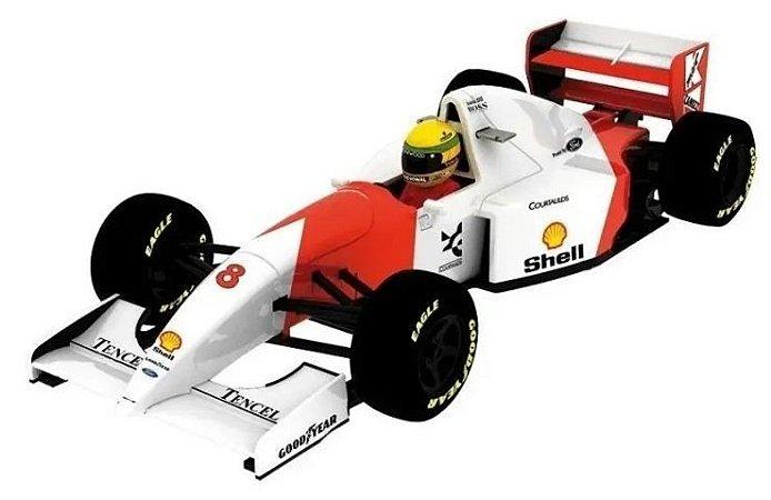 Coleção Lendas Brasileiras do Automobilismo Eaglemoss - McLaren MP4/8 Ford 1993 - 1/43