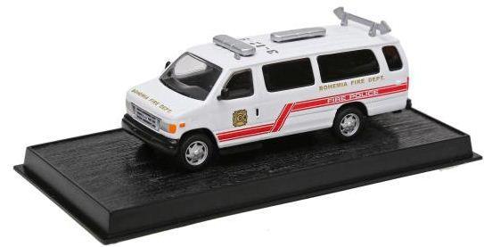"Ixo - Fourgon Fire Police ""Bohemia Fire Department"" - 1/57"
