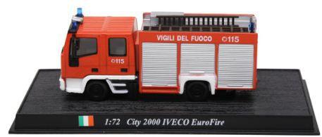 """Ixo - IVECO City EuroFire City 2000 """"Vigili del Fuoco""""  - 1/72"""
