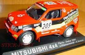 Ixo - Mitsubishi Pajero 4x4 - Rally Paris-Dakar 2001 - 1/43