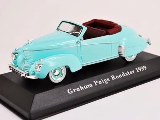 Ixo -  Graham Paige Roadster 1939 -1/43