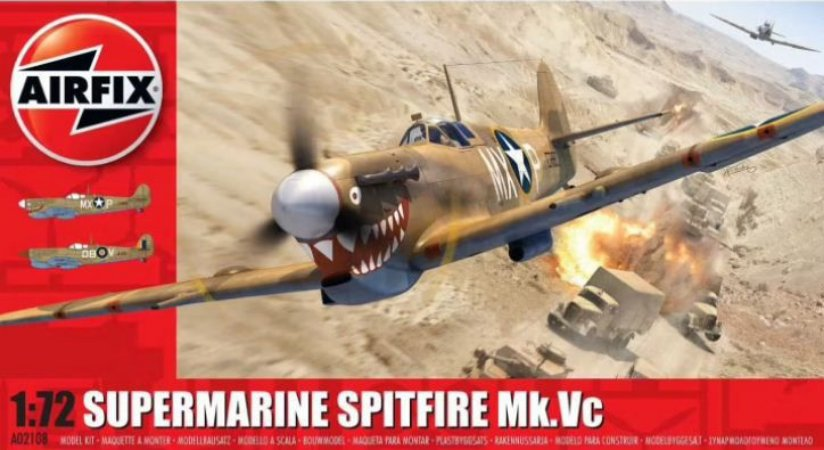 AirFix - Supermarine Spitfire Mk.Vc - 1/72