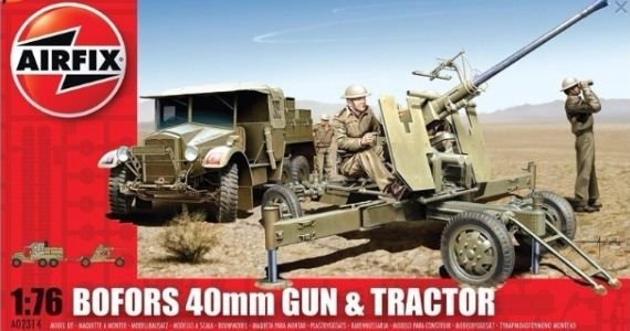 AirFix - Bofors 40mm Gun & Tractor - 1/76