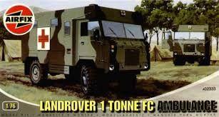 "AirFix - Landrover 1 Tonne FC ""Ambulance"" - 1/76"