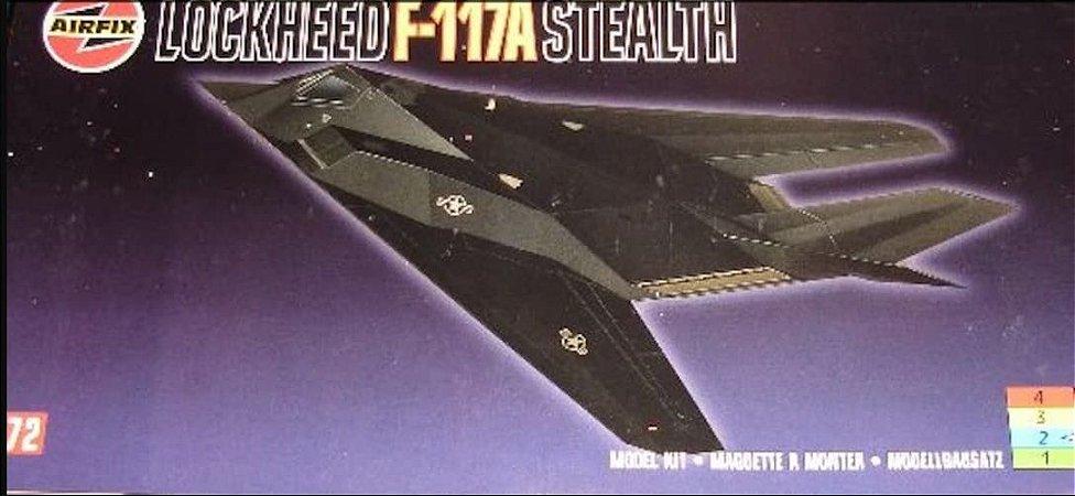 AirFix - Lockheed F-117A Stealth - 1/72