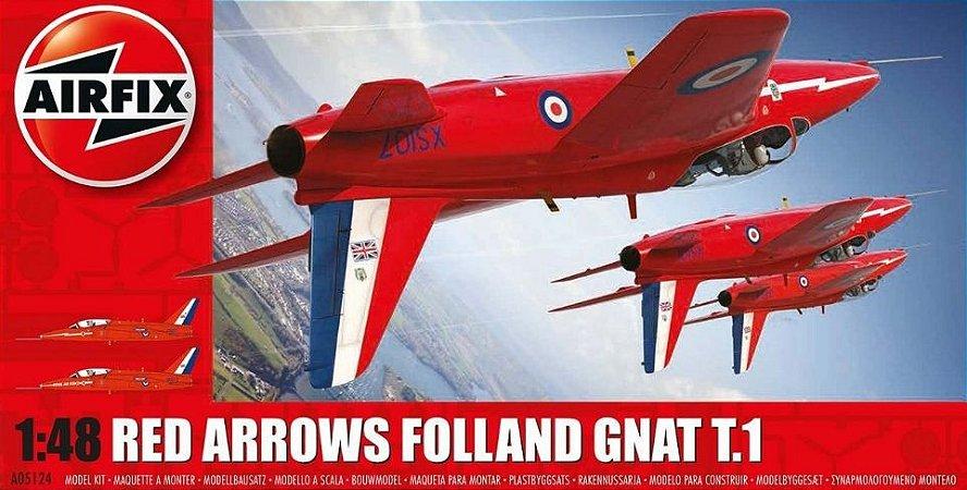 AirFix - Red Arrows Folland Gnat T.1 - 1/48