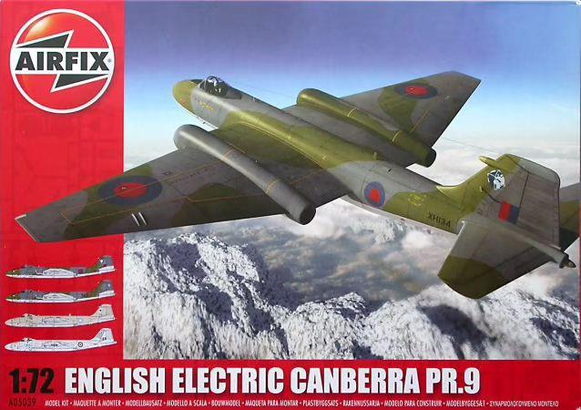 AirFix - English Electric Canberra PR.9 - 1/72