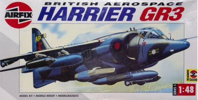 AirFix - British Aerospace Harrier GR3 - 1/48