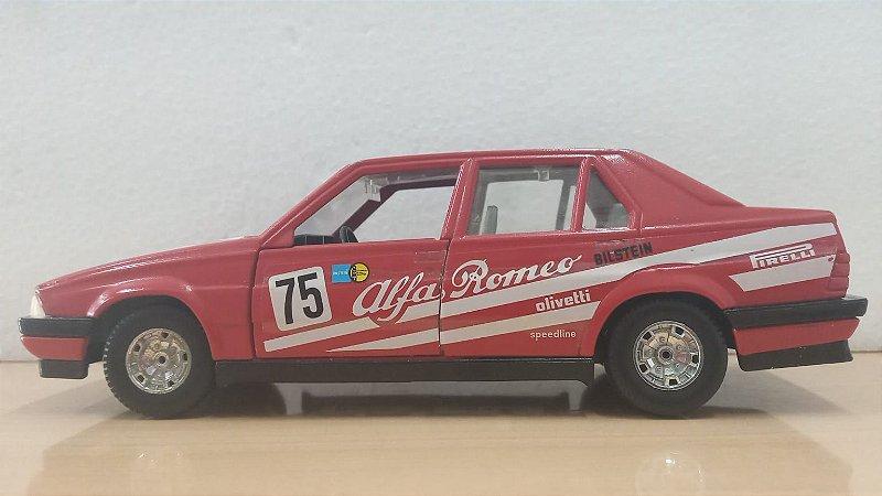 Burago - Alfa Romeo 75 Turbo Evoluzione (Sem Caixa) - 1/24