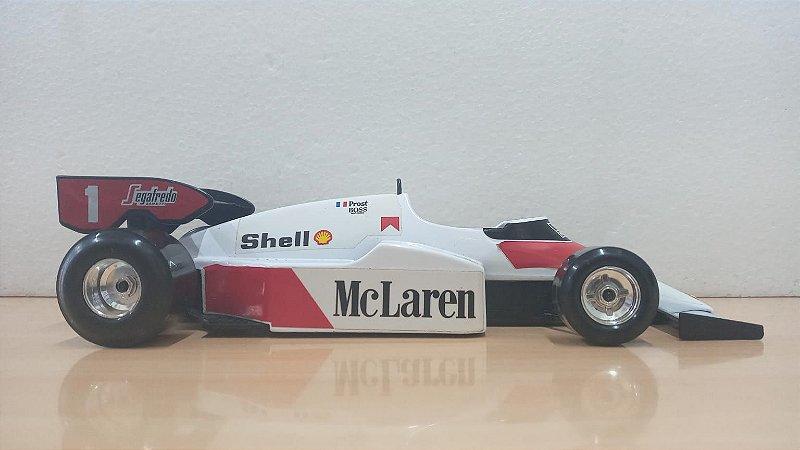 Burago - McLaren MP4/2 TAG-Porsche 1986 (Sem Caixa) - 1/24