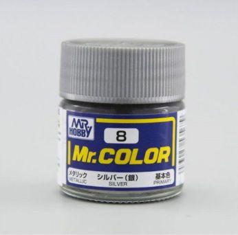Gunze - Mr.Color C008 - Silver (Metallic)