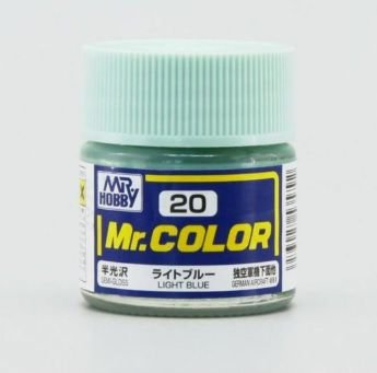 Gunze - Mr.Color 020 - Light Blue (Semi-Gloss)