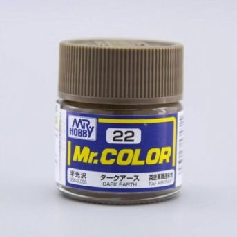 Gunze - Mr.Color 022 - Dark Earth (Semi-Gloss)