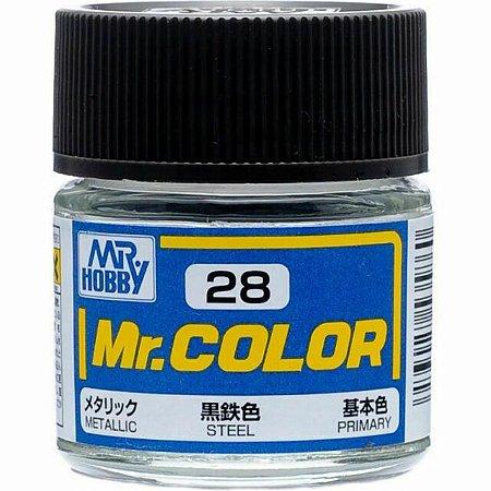 Gunze - Mr.Color C028 - Steel (Metallic)
