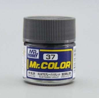 Gunze - Mr.Color 037 - RLM75 Gray Violet (Semi-Gloss)