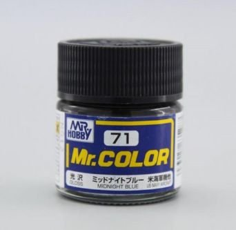 Gunze - Mr.Color 071 - Midnight Blue (Gloss)