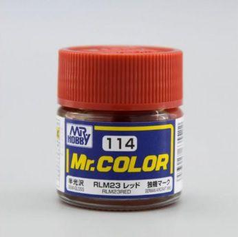 Gunze - Mr.Color 114 - RLM23 Red (Semi-Gloss)