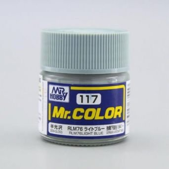 Gunze - Mr.Color 117 - RLM76 Light Blue (Semi-Gloss)