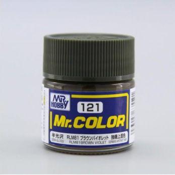 Gunze - Mr.Color 121 - RLM81 Brown Violet (Semi-Gloss)