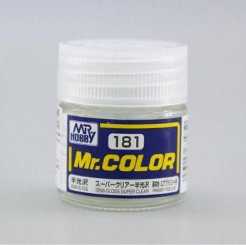 Gunze - Mr.Color 181 - Semi-Gloss Super Clear