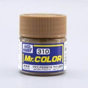 Gunze - Mr.Color 310 - Brown FS30219 (Semi-Gloss)
