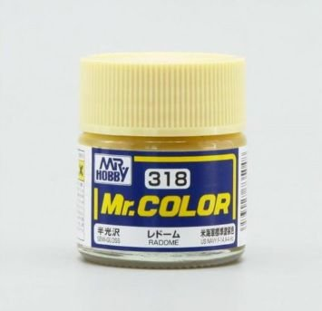 Gunze - Mr.Color 318 - Radome (Semi-Gloss)