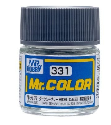 Gunze - Mr.Color 331 - Dark Seagray BS381C 638 (Semi-Gloss)