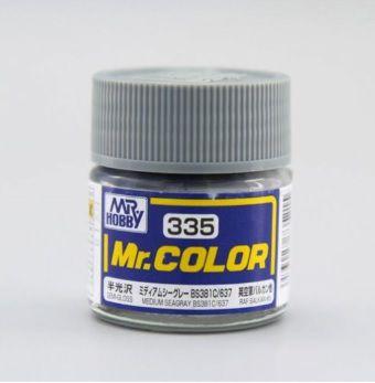 Gunze - Mr.Color 335 - Medium Seagray BS381C 637 (Semi-Gloss)
