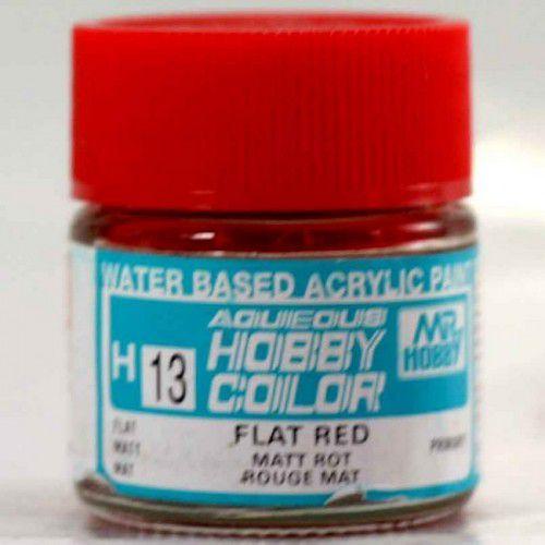 Gunze - Aqueous Hobby Colors H013 - Flat Red