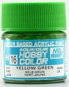 Gunze - Aqueous Hobby Colors H016 - Yellow Green (Gloss)