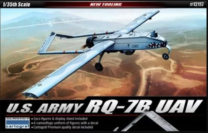 Academy - U.S. Army RQ-7B UAV - 1/35