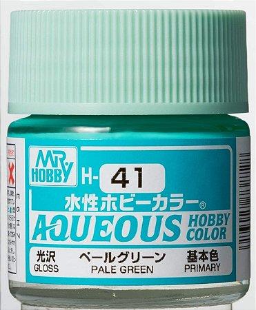 Gunze - Aqueous Hobby Colors H041 - Pale Green (Gloss)